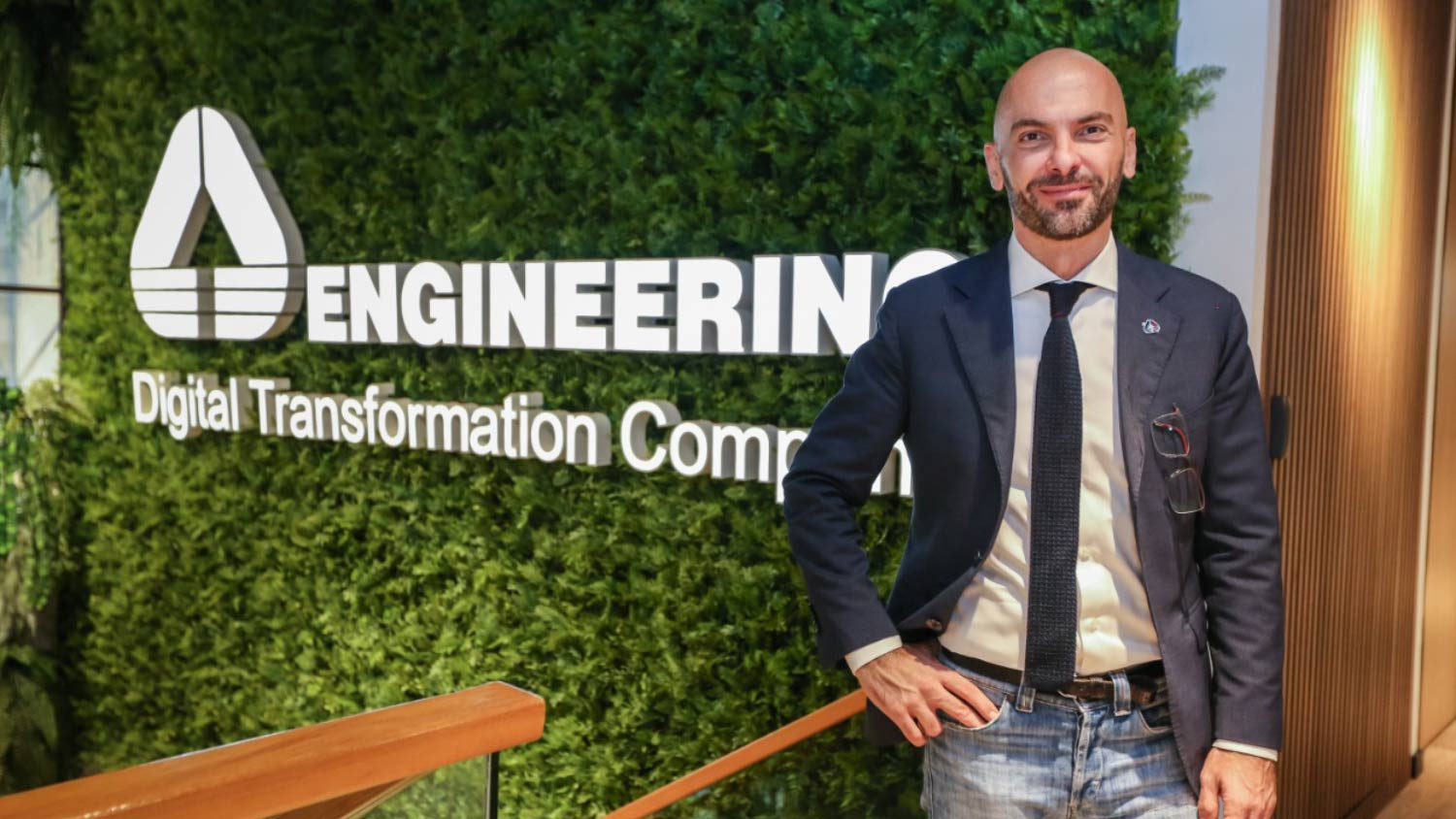 Filippo Di Cesare, CEO da Engineering, conta como a pandemia acelerou a Transformação Digital.