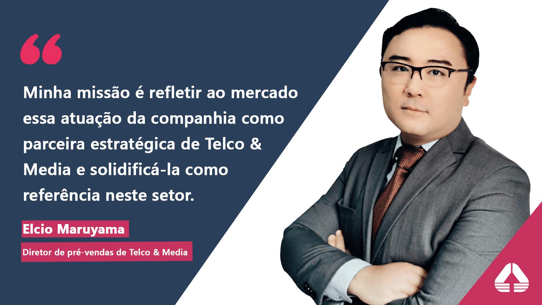 Engineering anuncia novo diretor de pré-vendas para a área de Telco & Media.