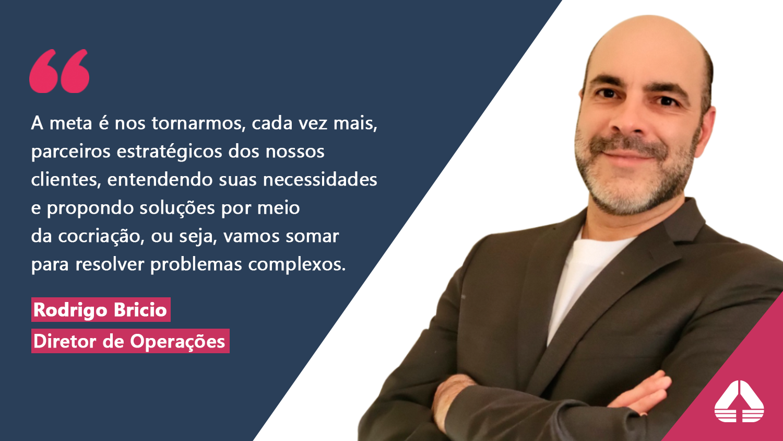 Engineering anuncia a contratação de Rodrigo Bricio como novo diretor de operações da companhia no Brasil.